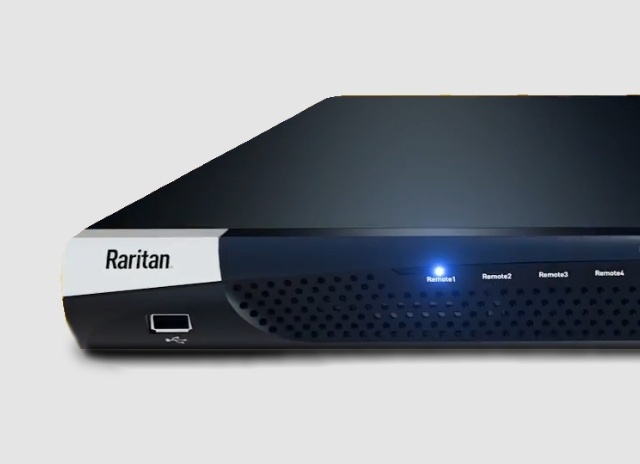 Tablet image of Raritan KVM over-IP switches