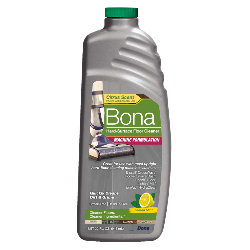 Bona® Hard-Surface Floor Cleaner - Hard-Floor Cleaning Machine Formulation 32oz