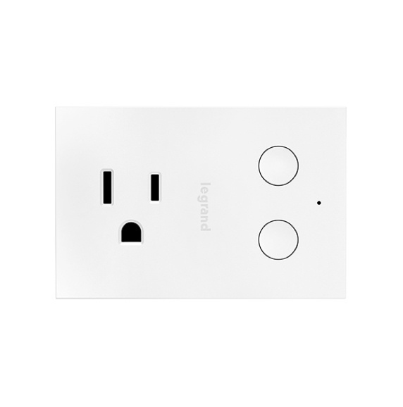 white radiant smart plug-in dimmer