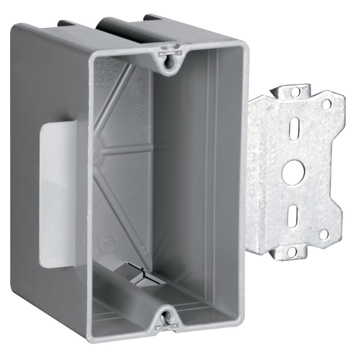 Wood & Steel Stud Bracket Box with Quick/Click, S118S50