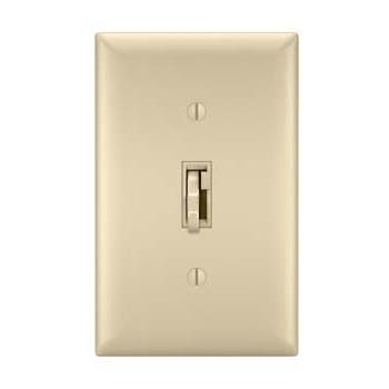 Toggle Slide Dimmer Tru-Universal, Single Pole / 3-Way 700W, Ivory
