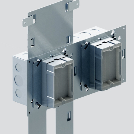 Box bracket pre-fab component