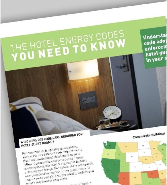Hotel energy code