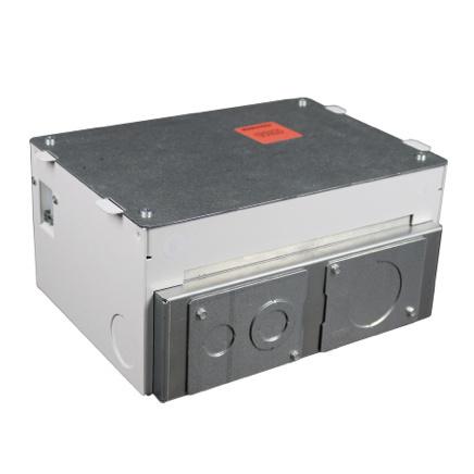 Raised floor box