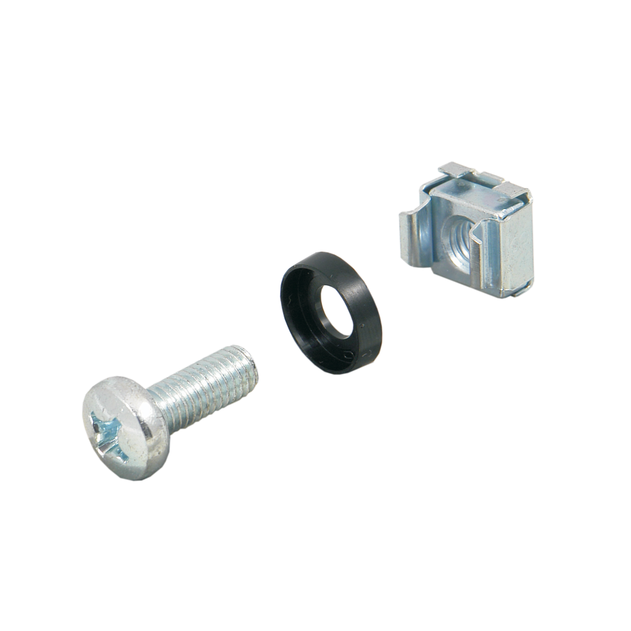 Imagen para Fixing materials kit, square nut M6 de Schroff - Norteamérica