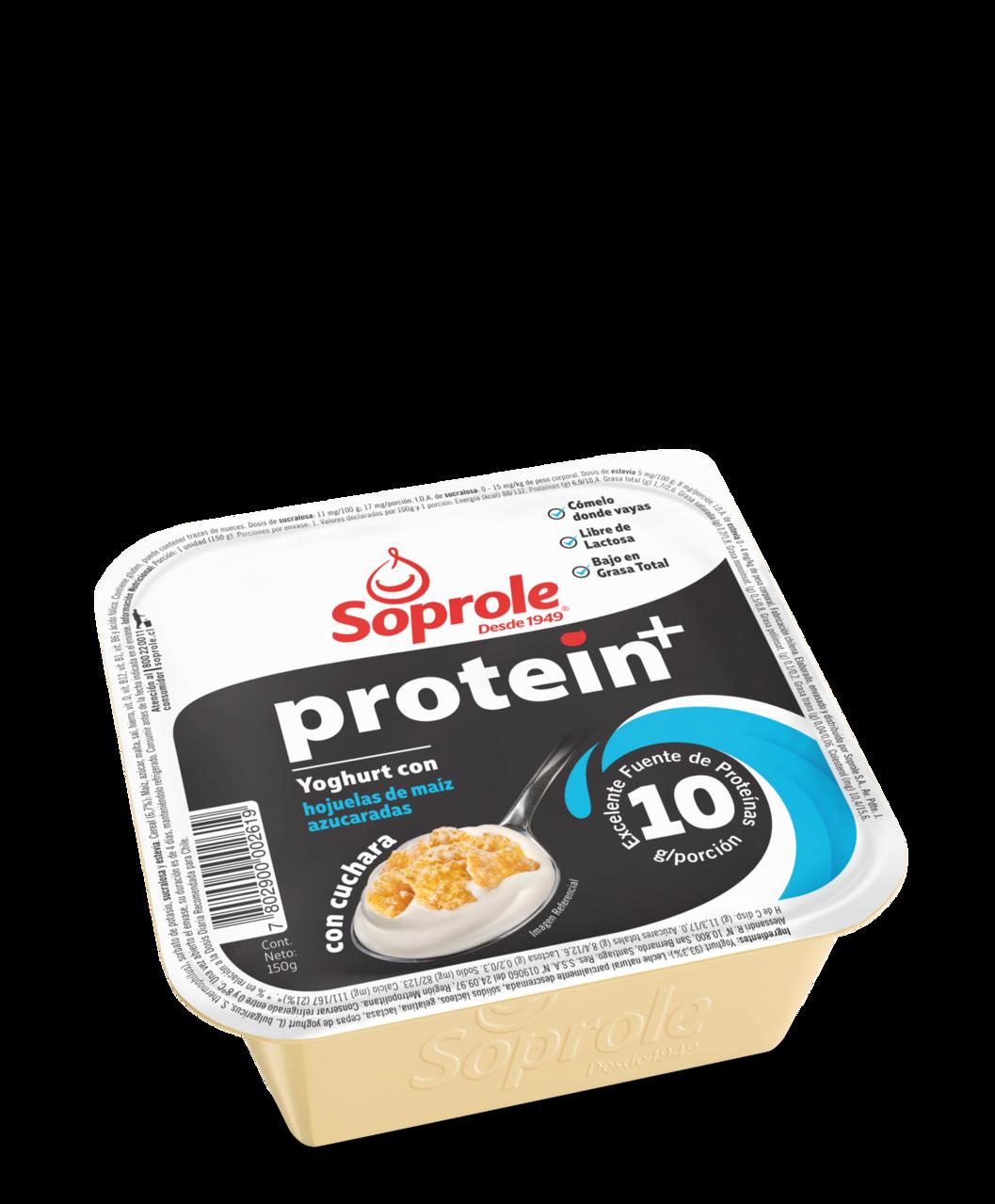 Soprole Yoghurt Portein+ con cuchara Cereal 150g