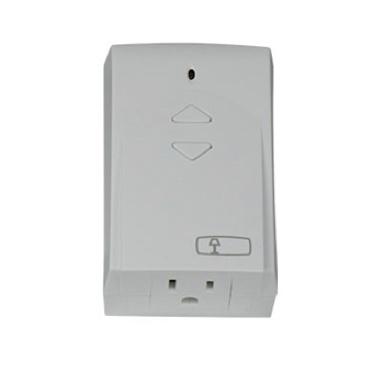 white Legrand RF lighting control plug-in module