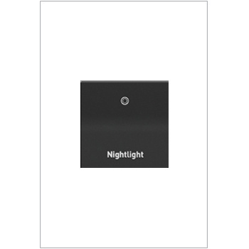 Engraved Paddle™ Switch, 15A, Graphite - Nightlight