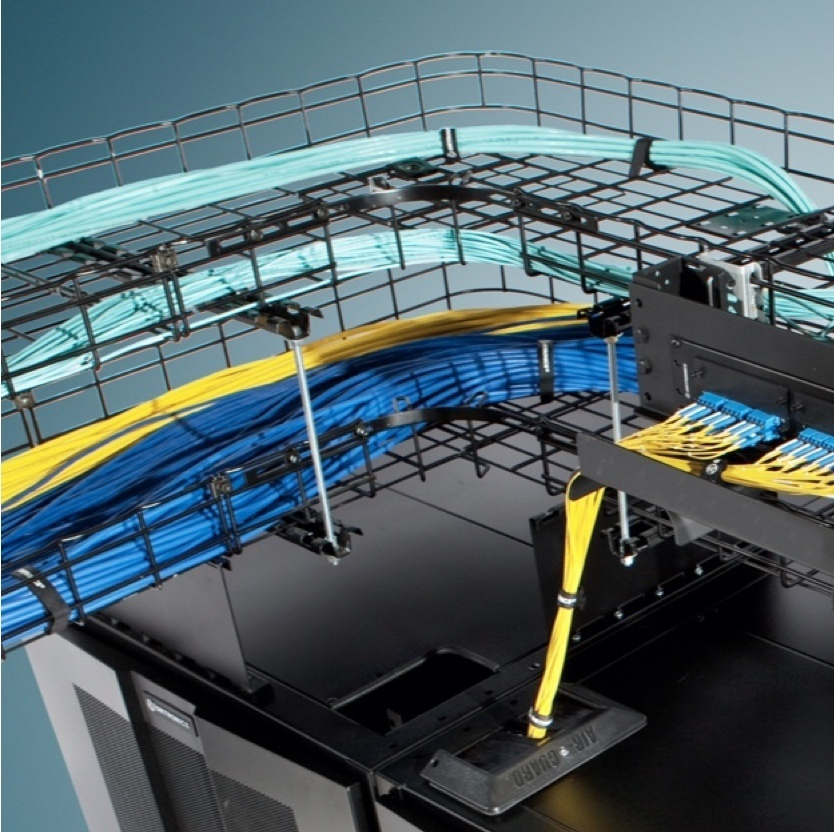 Wire mesh cable tray load table