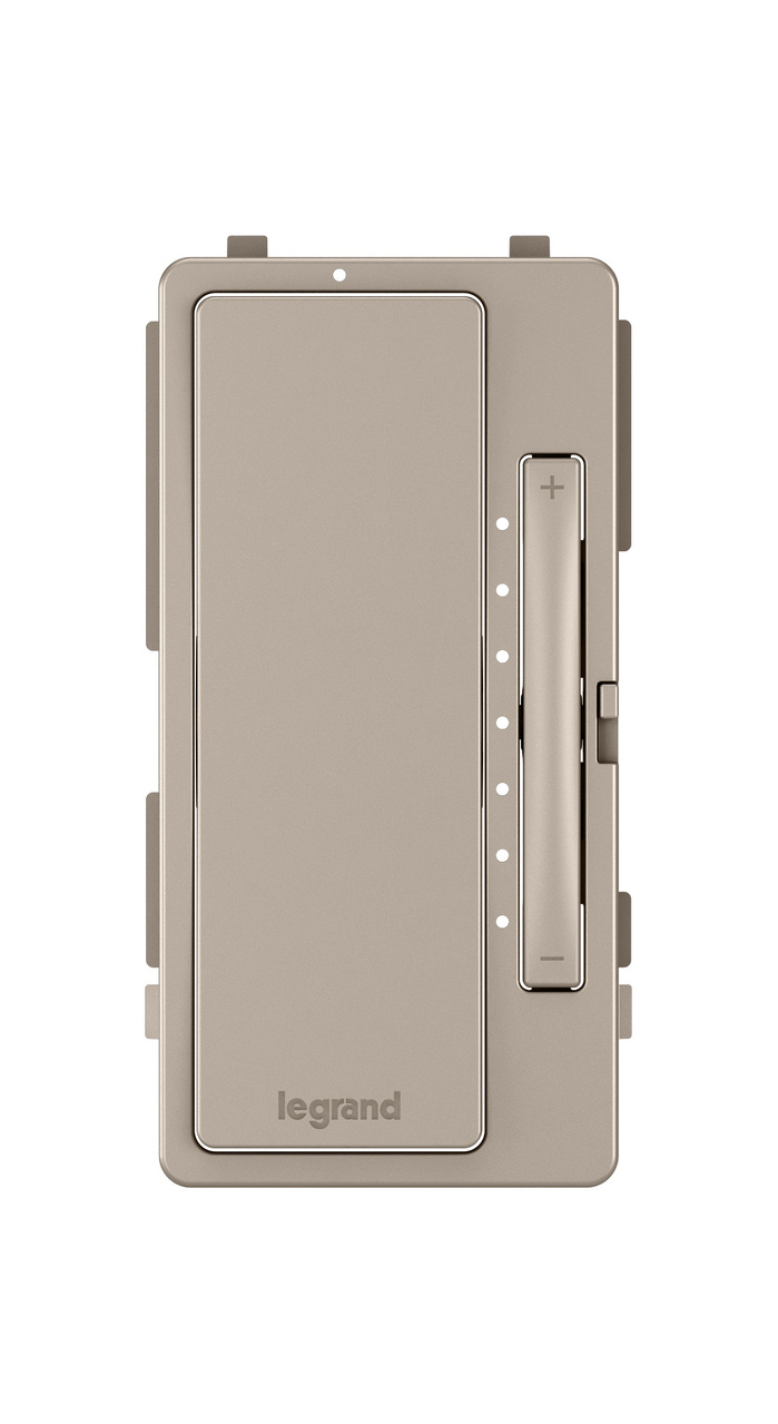 Interchangeable Face Cover for Multi-Location Master Dimmer, Nickel