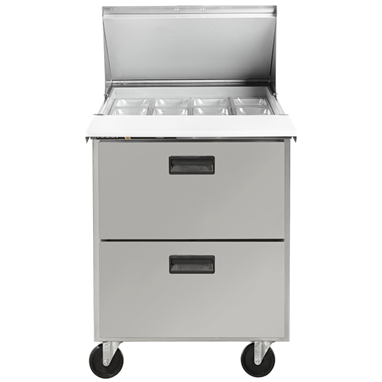 Centerline™ by Traulsen 27in Compact Prep Table w/ Drawers