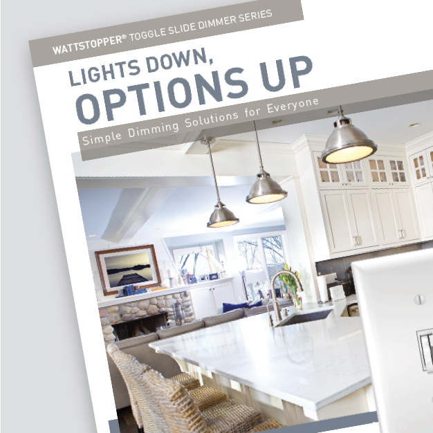 toggle slide dimmers brochure cover