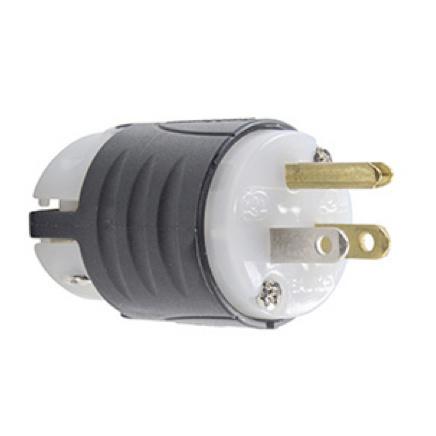 straight blade plug