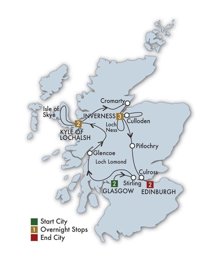 Scottish Clans & Castles - 10 Days/9 Nights