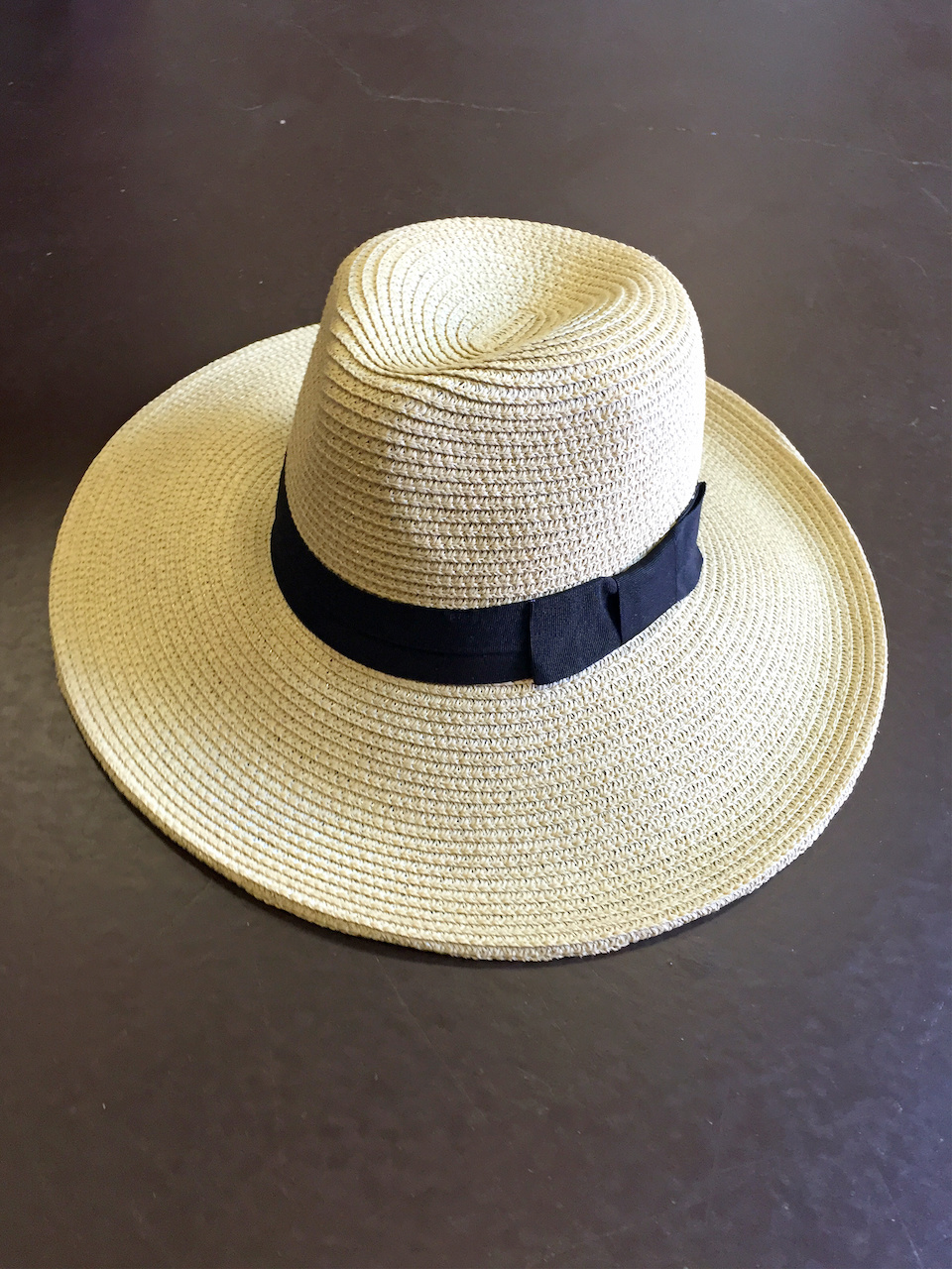 From Ambiance: Natural Panama hat, $29.99