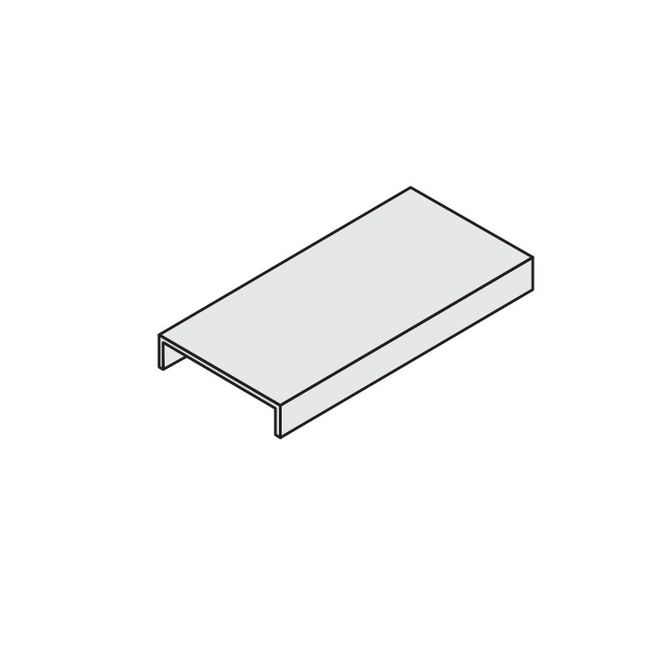 Cable Channel Tray Metallic Straight Sections Cover