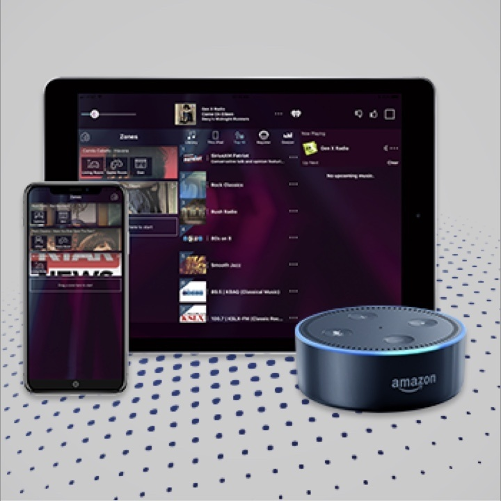 Nuvo music products and Amazon Alexa