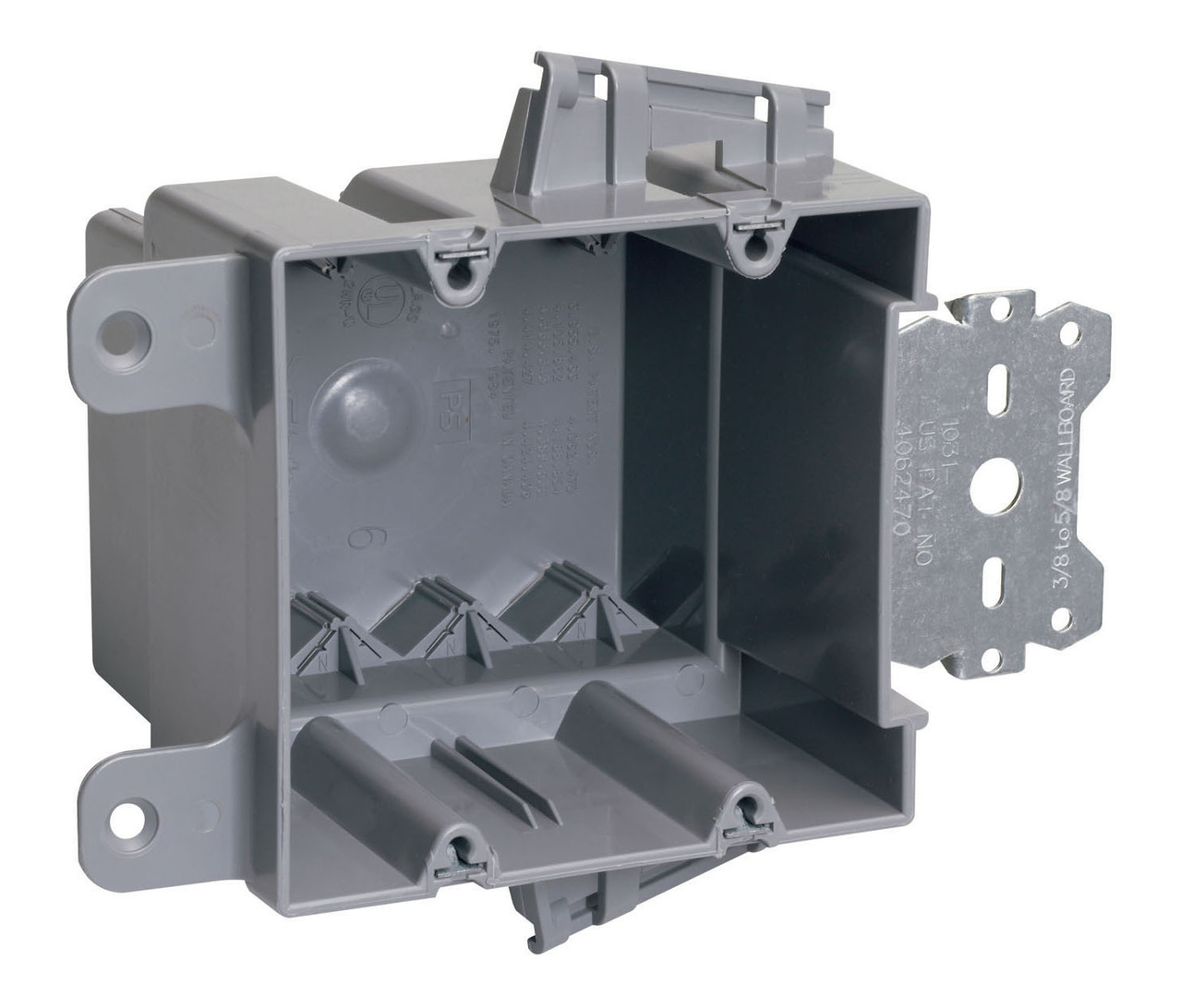Wood & Steel Stud Bracket Box with Quick/Click, S235S50AC