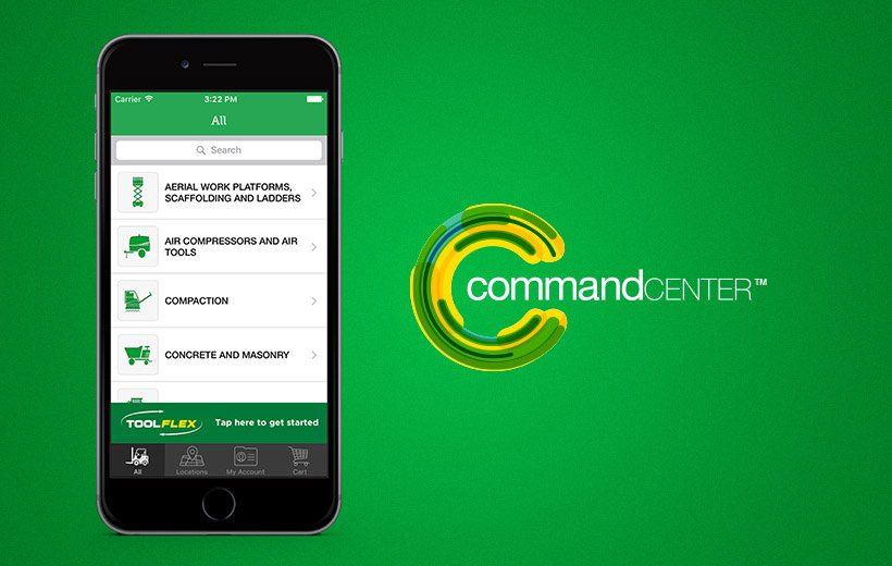 Command Center - Digital Account Management