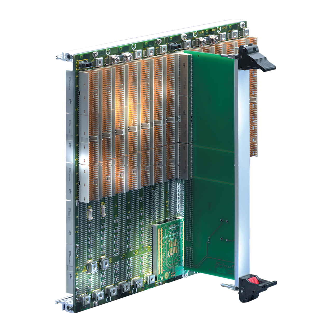 Image for CPCI backplanes secondary, system slot to right from nVent SCHROFF | Europe, Middle East, Africa and India