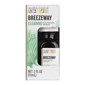 Aura Cacia Breezeway Essential Oil Blend, Boxed 0.5 fl oz