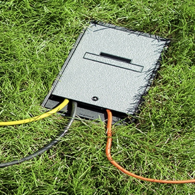 Outdoor ground box from Legrand