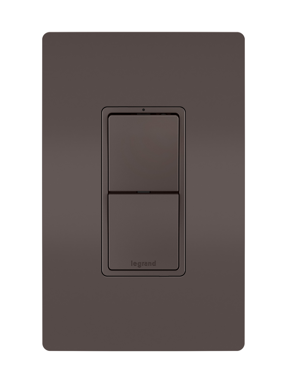 Two Single Pole/3-Way Switches, Brown