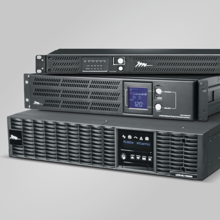 Desktop image of Middle Atlantic Products UPS white paper resource
