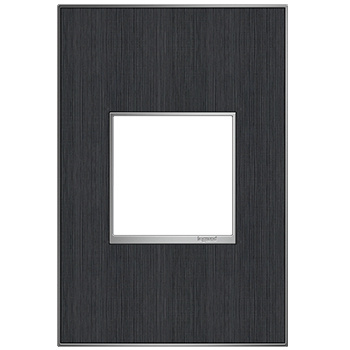 adorne 1-Gang Rustic Grey Wall Plate