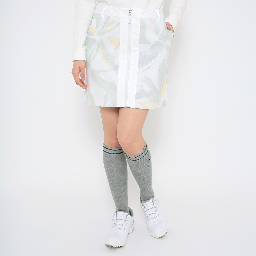 CALLAWAY フラワープリント裏フリースボンディングスカート (WOMENS)