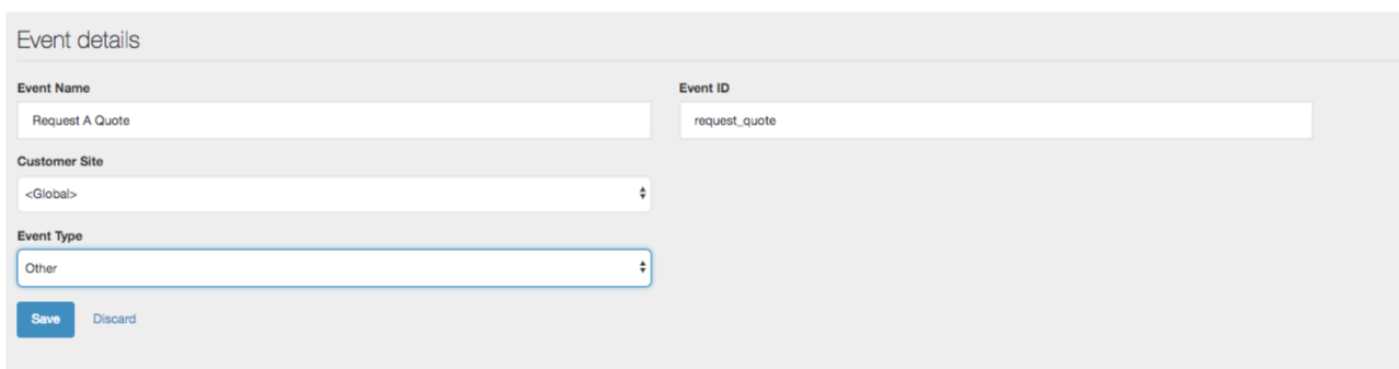 Creating and managing events — Acquia Product Documentation