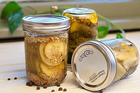 Pickling in mason jar