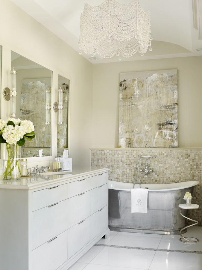 This ansley park master bath is amazing for New home bathrooms