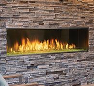 Lanai Gas Fireplace
