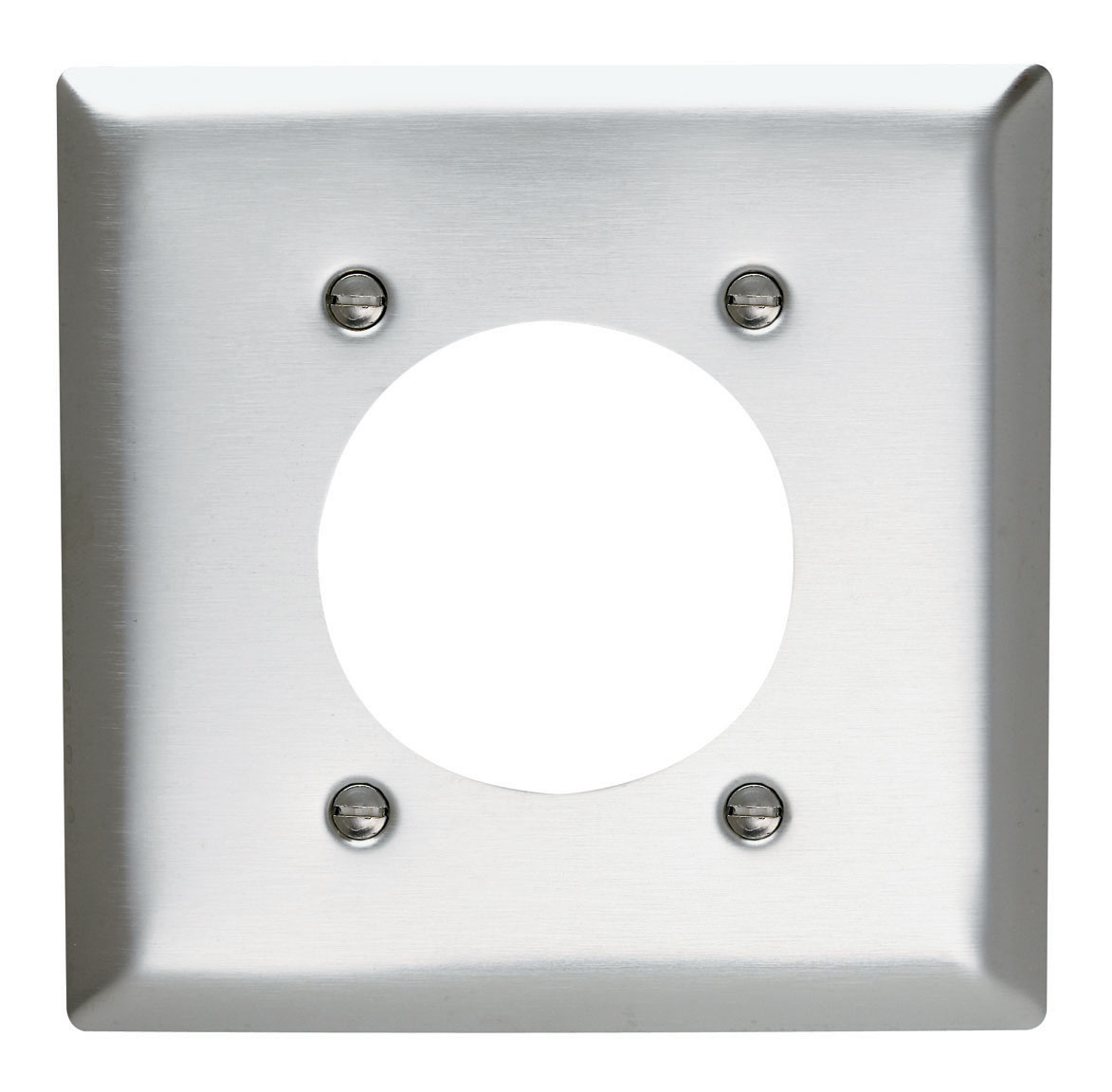 Power Outlet Receptacle Openings, Two Gang, 302/304 Stainless Steel