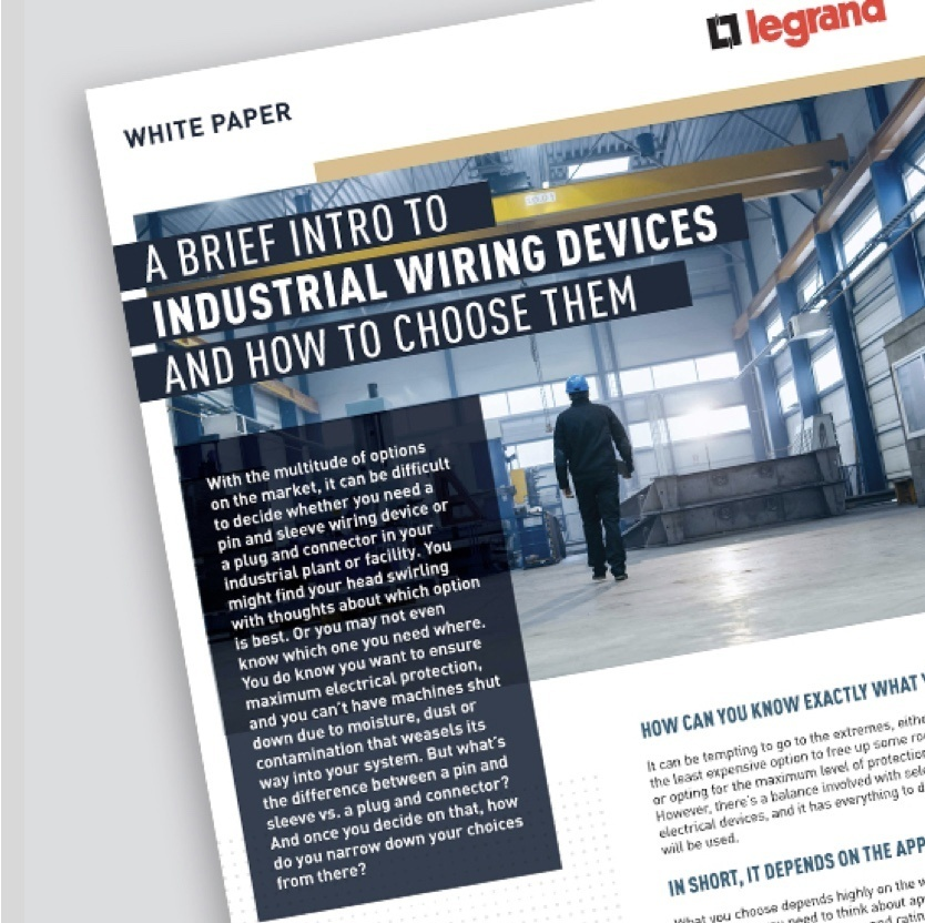 Industrial Wiring Devices white papers page