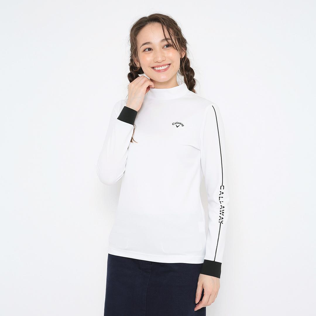 CALLAWAY  ストレッチスムース モックネックシャツ (WOMENS)