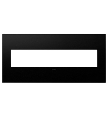adorne 5-Gang Graphite Wall Plate