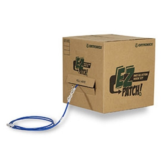 EZ Patch packaging with recycled cardboard