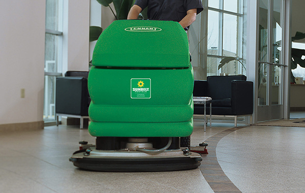 Flooring equipment in action