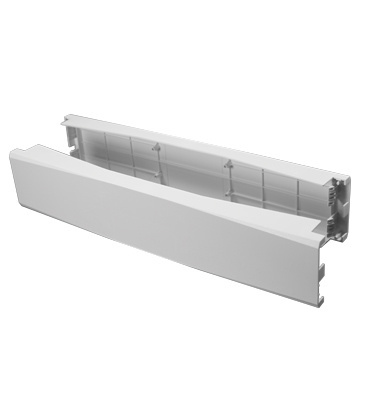 White tool less filler panel, OR-BFPT-2RU-10-W
