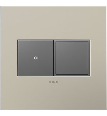adorne Magnesium 2-Gang Pop-Out Outlet