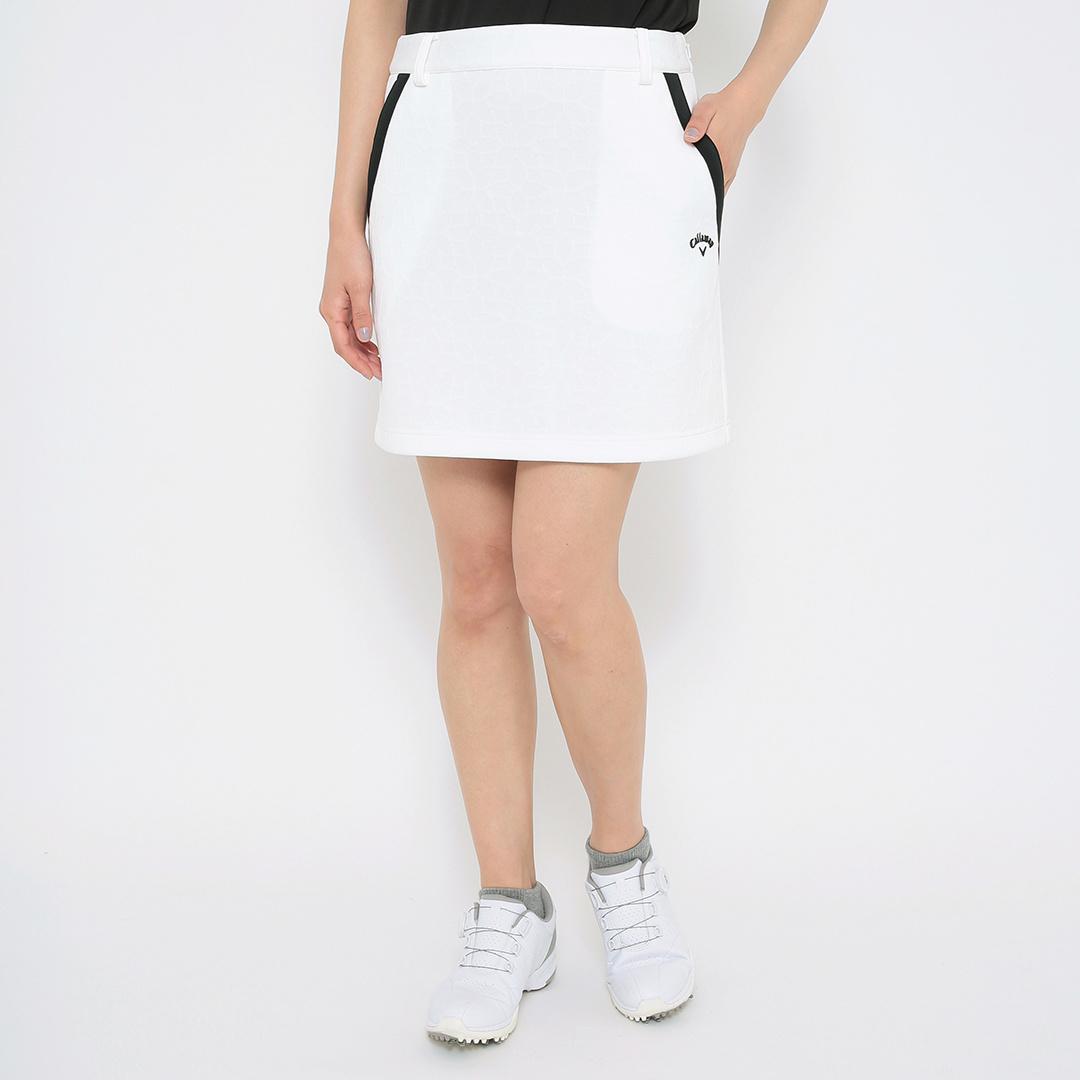 CALLAWAY  フラワーモチーフ キルトジャカードスカート (WOMENS)