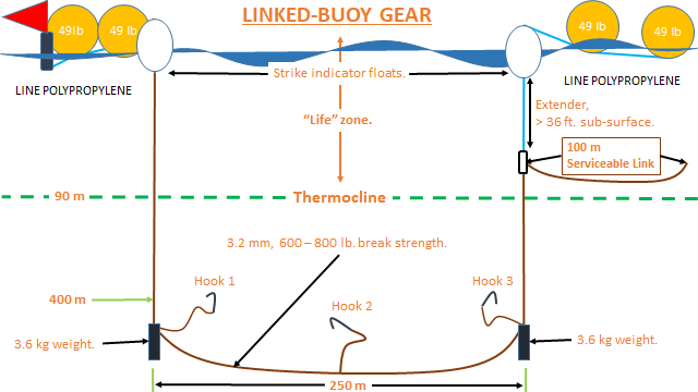 Diagram of Linked Buoy Gear