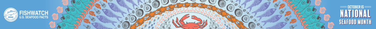 National Seafood Month 2019 Web Banner