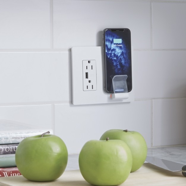 In-wall Wireless charger