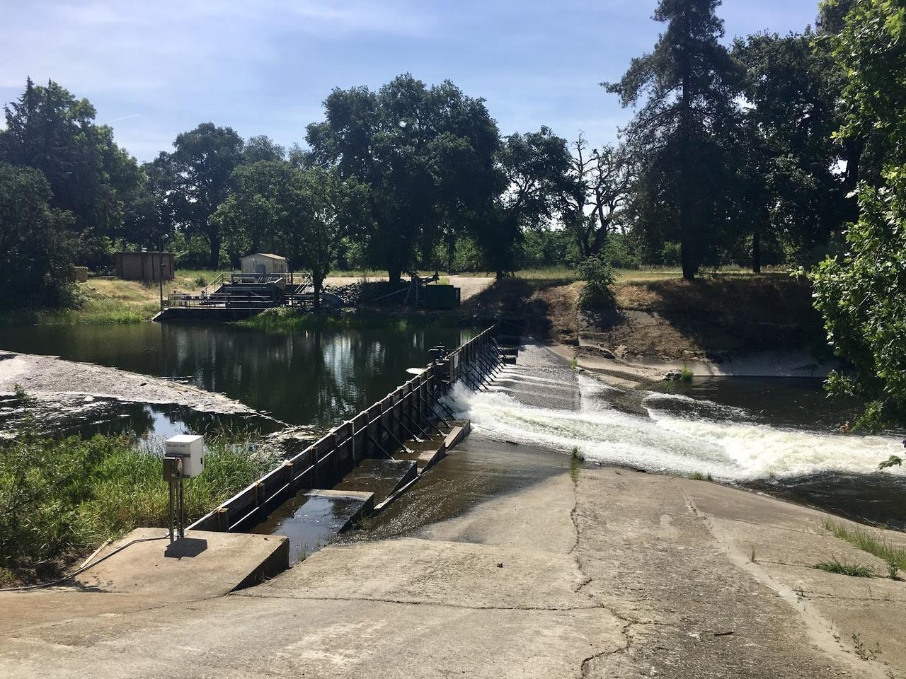Calaveras River at Bellota Weir