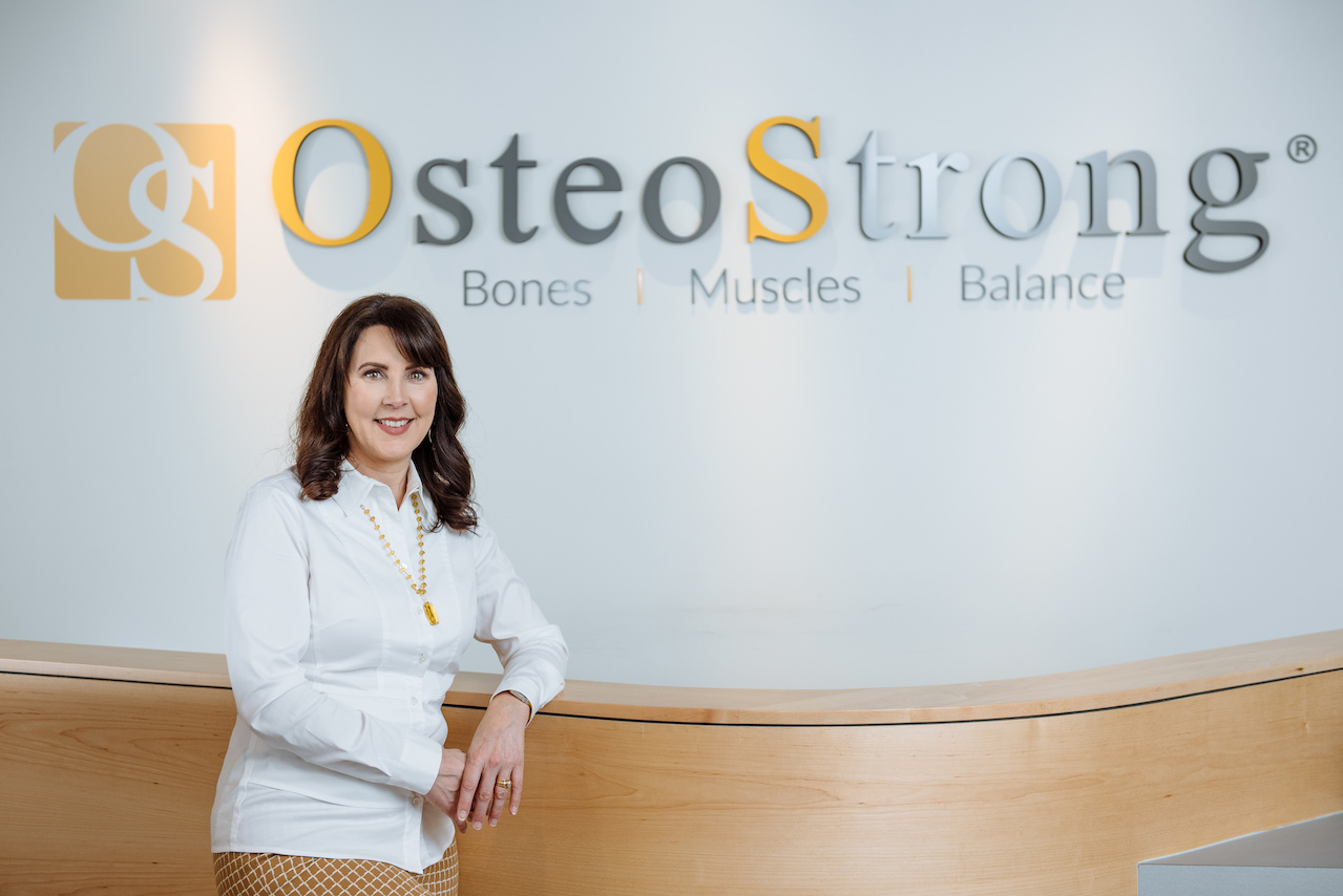 Diane Mulley owns three of the five area OsteoStrong locations.