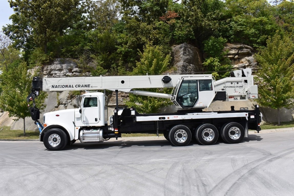 2013 Peterbilt 367 8x6 National NBT55128 Boom Truck