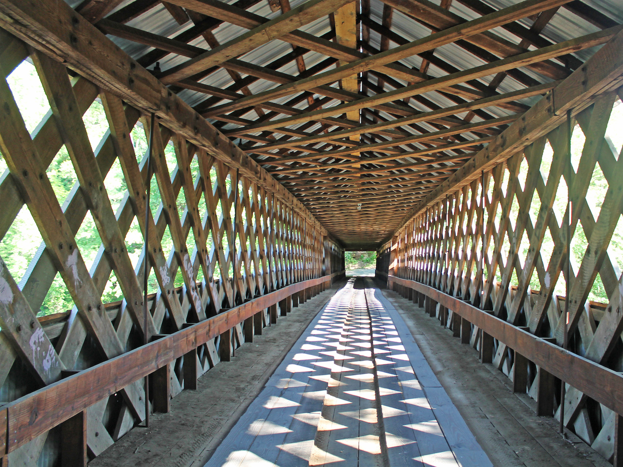 Swann Covered Bridge in Blount County